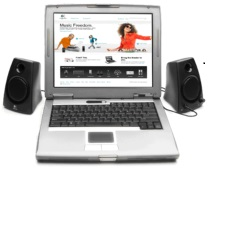 This image has an empty alt attribute; its file name is laptop-with-speakers-attached.jpg